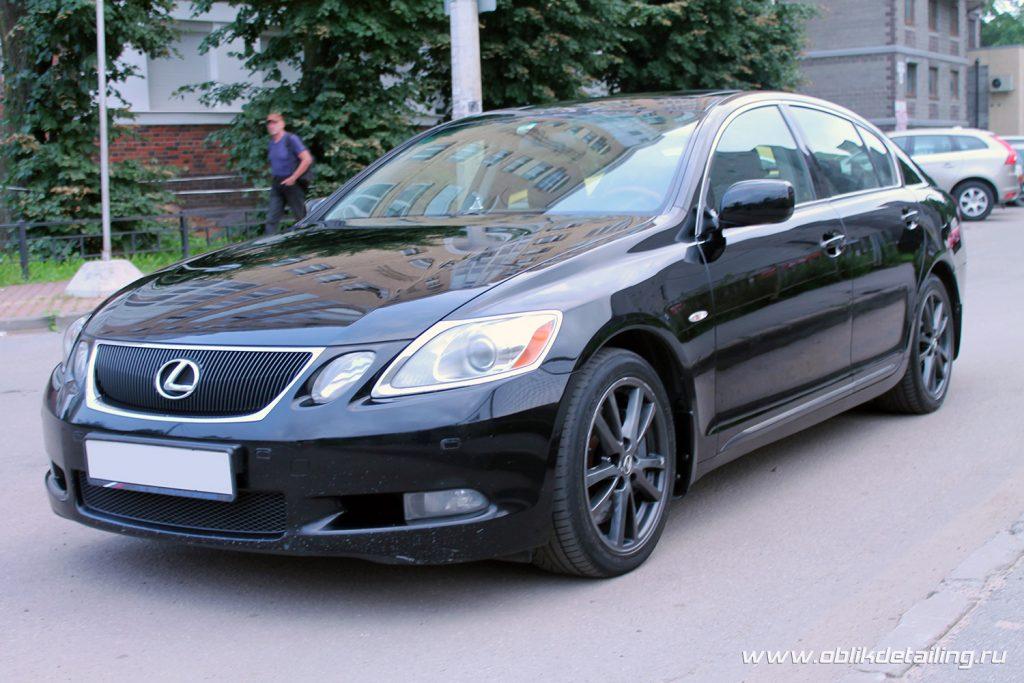 Детейлинг Lexus GS300