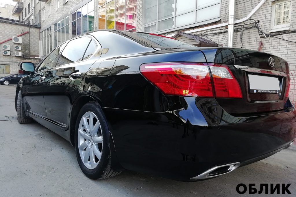 Детейлинг Lexus LS460