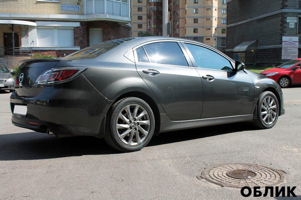 detailing Mazda