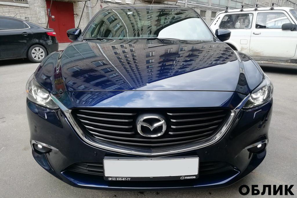 Детейлинг Mazda 6