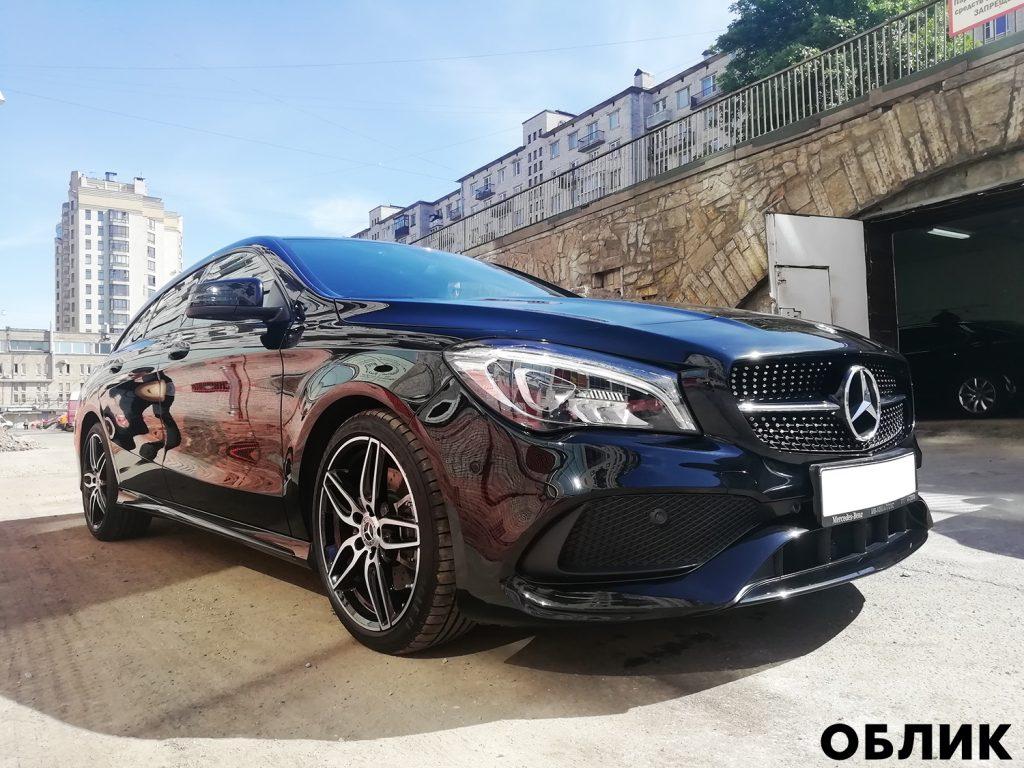 Детейлинг Mercedes-Benz CLA