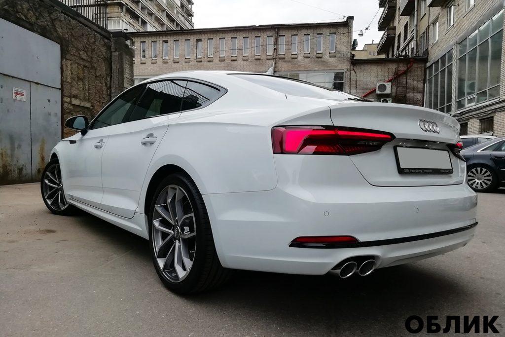 Детейлинг Audi A5 от студии Облик