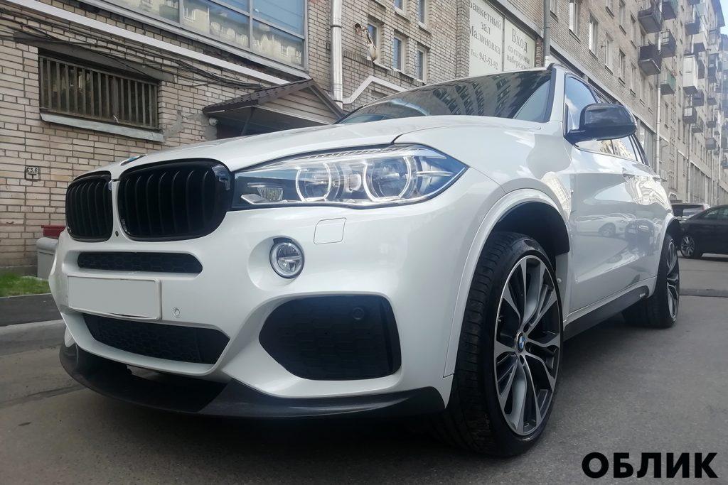 detailing BMW X5