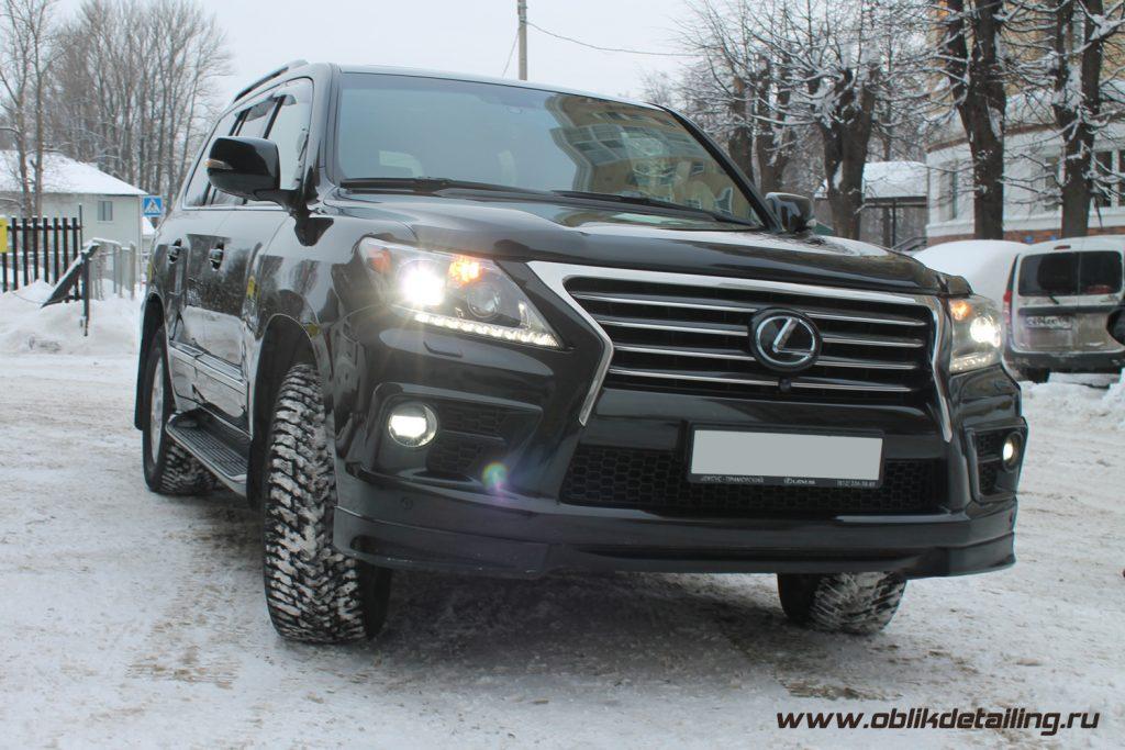 Детейлинг Lexus LX
