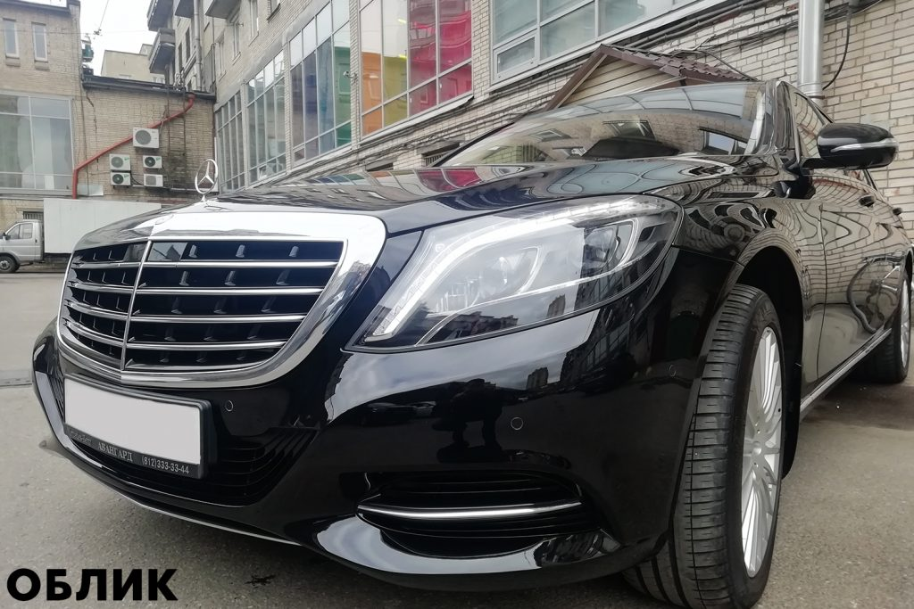 Детейлинг Mercedes-Benz S-class
