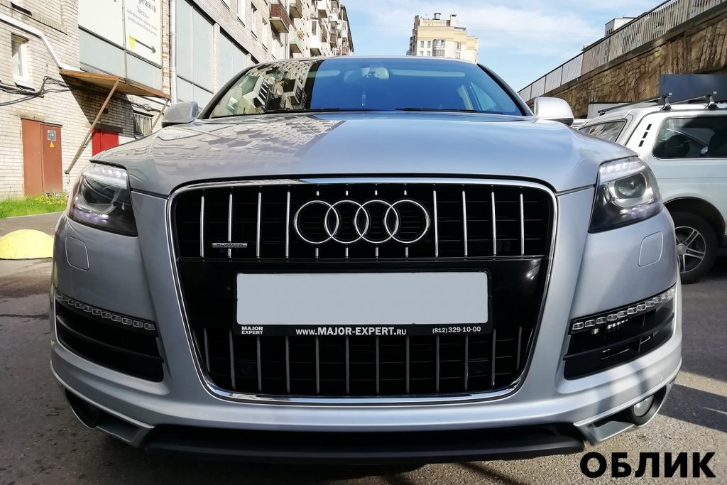 Готовая работа детейлинга Audi Q7