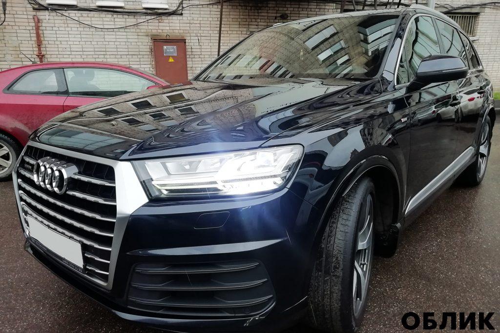 detailing Audi Q7
