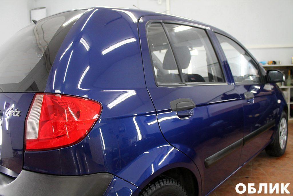Детейлинг Hyundai Getz