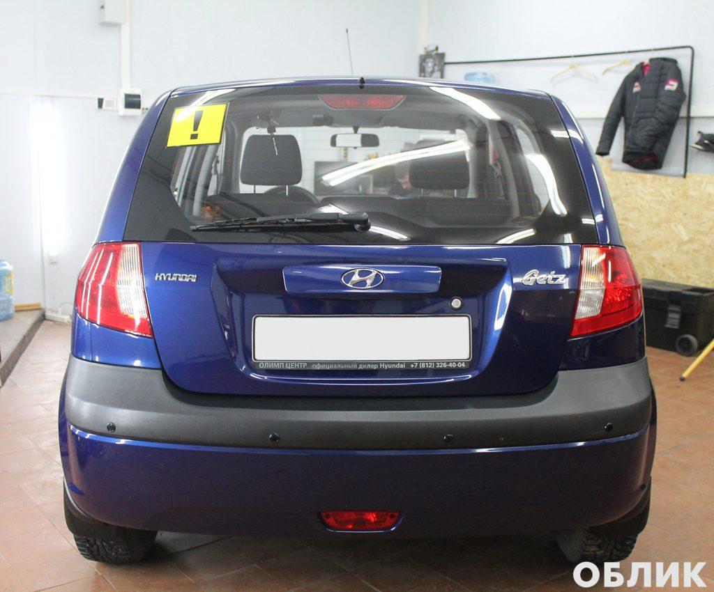 Hyundai Getz - итог работы