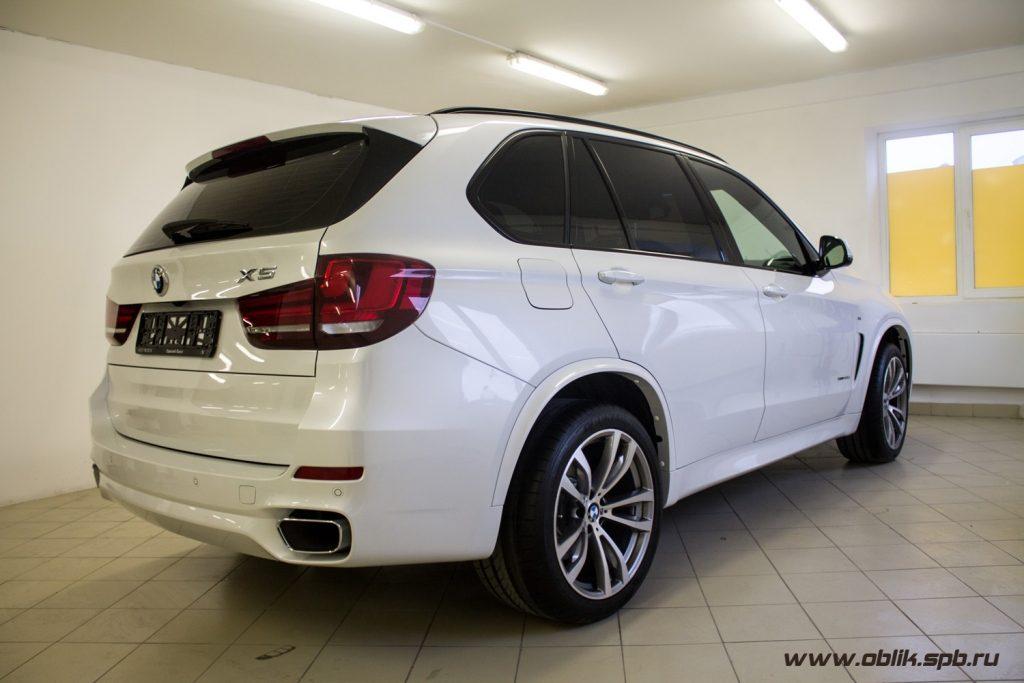 Тонировка стекол BMW X5