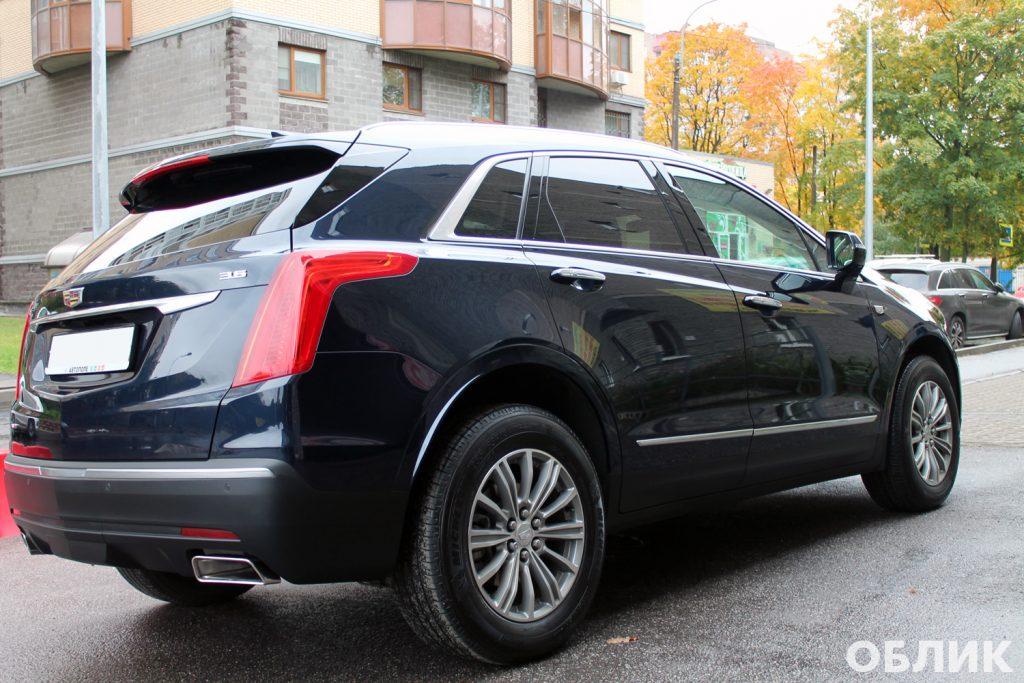 Детейлинг Cadillac XT5