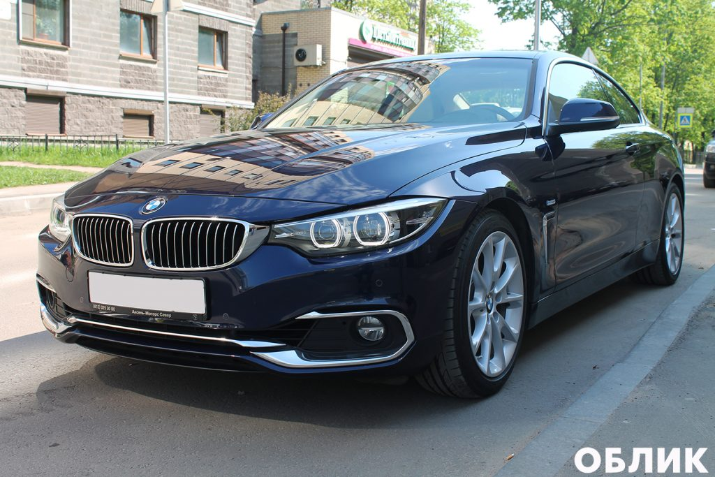 Детейлинг BMW 4