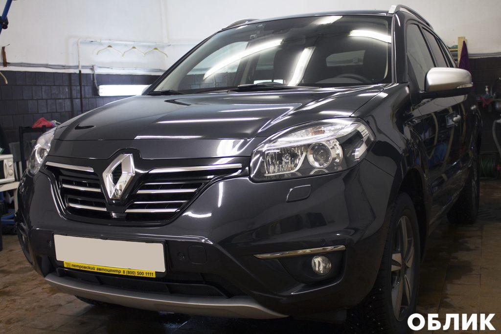 Детейлинг Renault Koleos