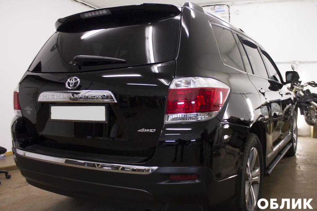 Детейлинг Toyota Highlander