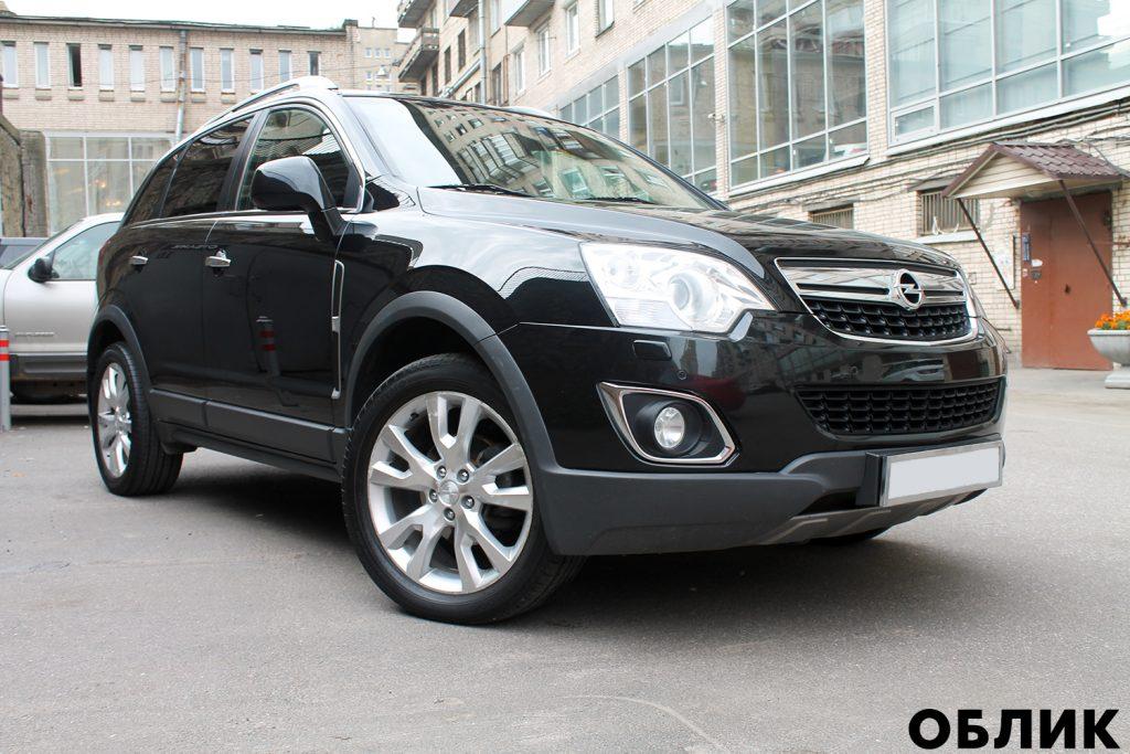 Детейлинг Opel Antara